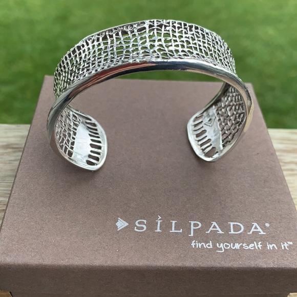 B1625 Silpada sterling cuff bracelet